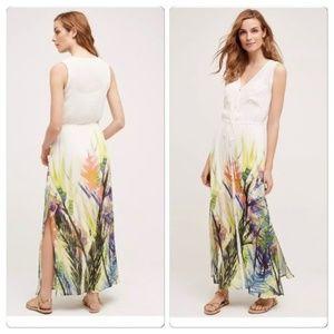 Anthropologie Mermaid Watergarden Dress